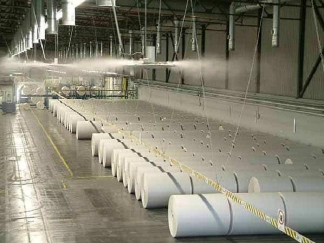 khử mùi hôi nhà máy sản xuất cao su