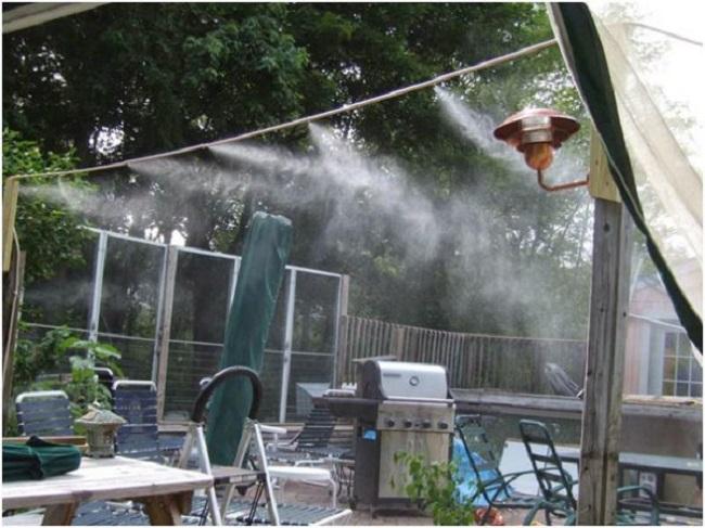 Lắp đặt máy phun sương tại phú quốc