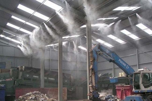 cách khắc phục mùi hôi tại các khu công nghiệp