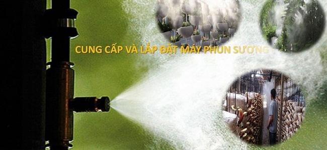 địa điểm lắp máy phun sương uy tín tại Phú Yên