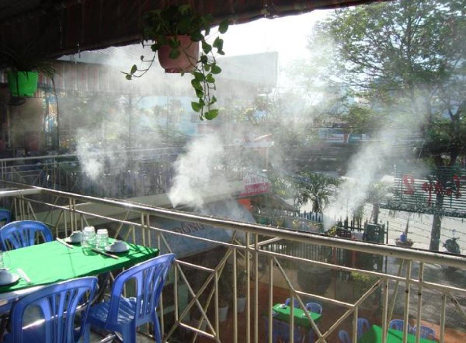 địa điểm lắp máy phun sương uy tín tại Nha Trang