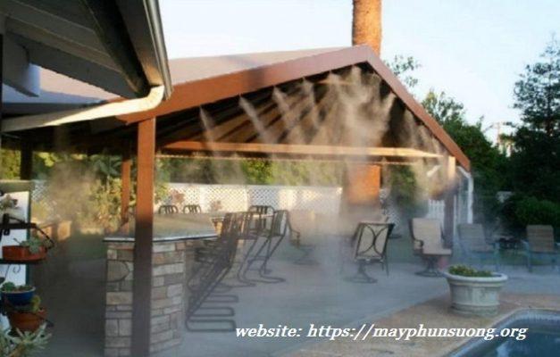 Ứng dụng hệ thống phun sương cao áp